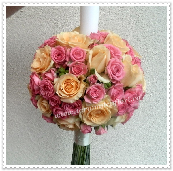 Lumanari de nunta-trandafiri si miniroze.0205